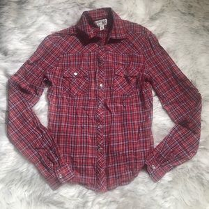 Urban Outfitters | checkered button up